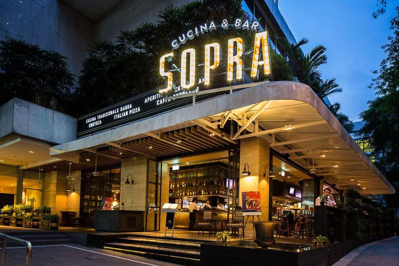 Italian restaurant exterior - Sopra Cucina Bar Craving Italian