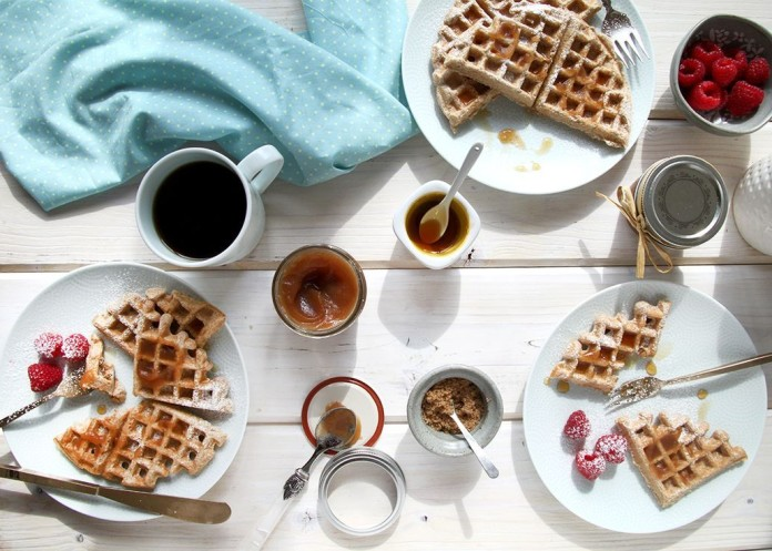 Book tastiest waffles with Weeloy.com