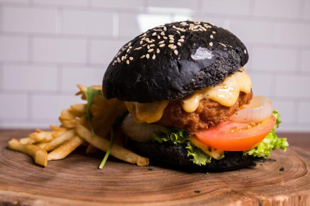 first 25 cafe Crispy pork hamburg cheese lovers