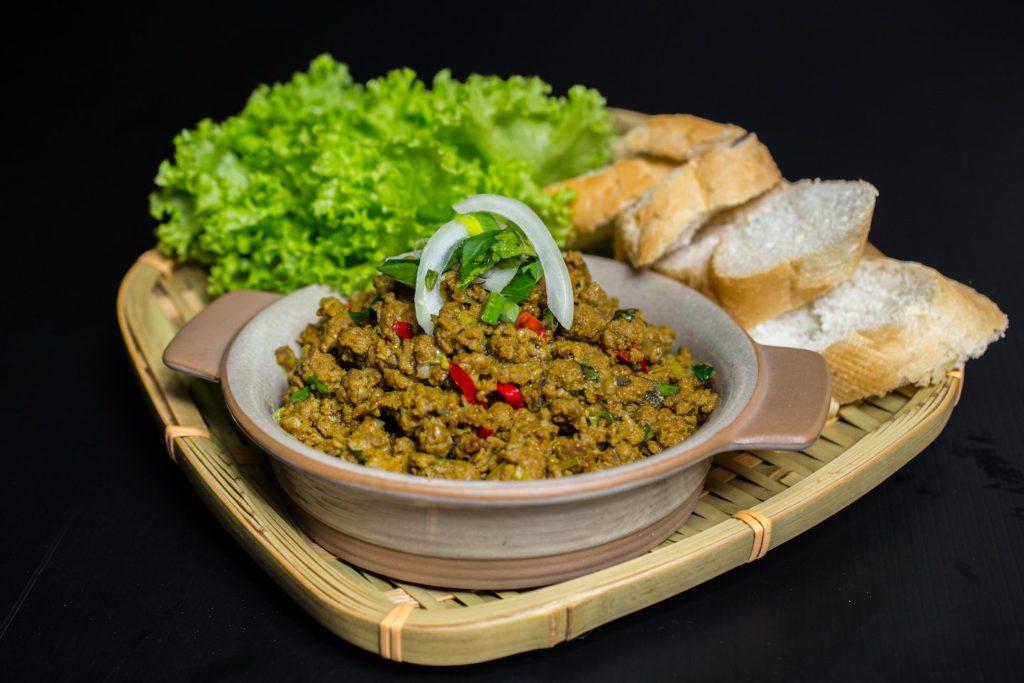 Vietnamese Minced Beef little saigon Vietnamese eateries